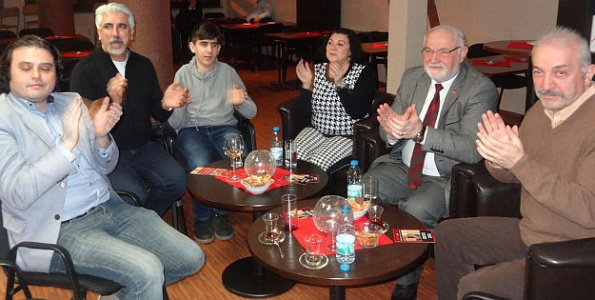 Türk-Alman işadamları birlikte eğlendi