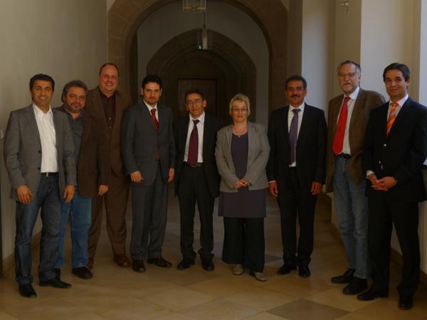 Gespräche mit Oberbürgermeister Dr. Maly und der SPD