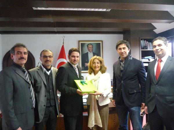 Gespräche mit Generalkonsulin Ece Öztürk Çil
