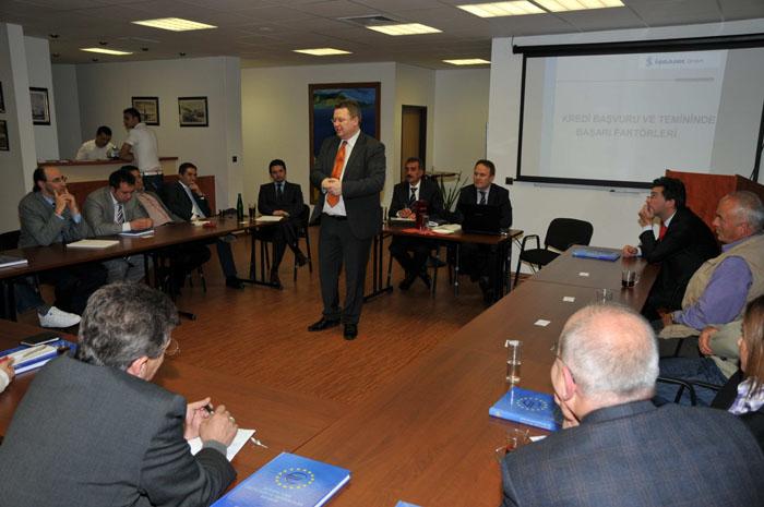 Vortrag der İŞ-Bank GmbH vom 10.05.2010